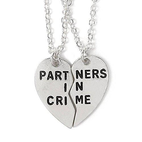 jewelleryjoy Broken Heart 2 Piece Best Friends Fashion Women Men Gifts...