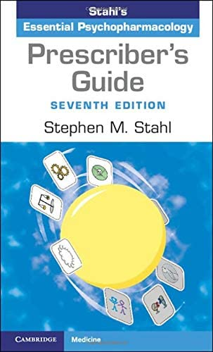 Prescriber s Guide Stahl s Essential Psychopharmacology product image