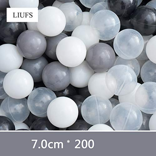 LIUFS-Bola Del Océano Indoor Marine Ball Pool Kunststoff Ball Multi-Color Matching Game Zaun Hause Kinder Spielzeug (Farbe : B1)