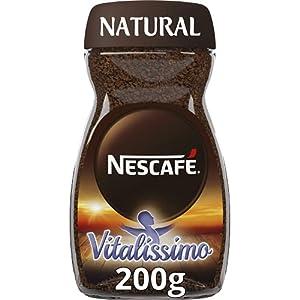 NESCAFÉ VITALISSIMO NATURAL con magnesio, café soluble, frasco de vidrio, 200 g
