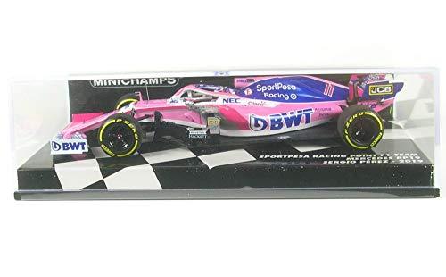 paul's model art gmbh Minichamps 417190011 - Sportpesa Racing Point F1 Team Mercedes Rp19 Sergio Perez 2019 - maßstab 1/43 - Sammlerstück Miniatur