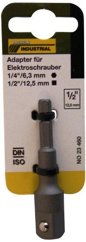 Proxxon 23460 Adapter für Elektroschrauber Abtrieb 12,5mm (1/2