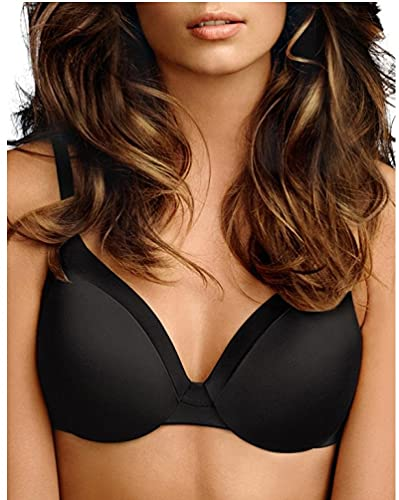 Maidenform Womens Comfort Devotion - Extra Coverage Bra, Black,34DD