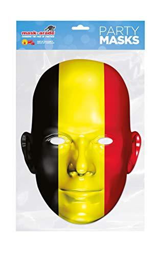 Masque en Carton Belgique - Taille Unique