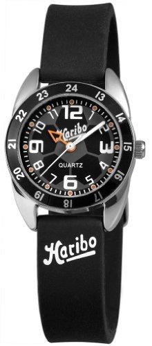 Haribo Unisex-Armbanduhr Analog Silikon HA3867-BK