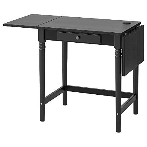 INGATORP Schreibtisch 73x50x74cm schwarz