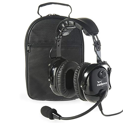 Cadence CA501 Premium PNR Stereo Pilot Aviation Headset