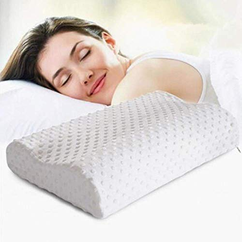 2ci Yanz Contour Pillow Soft Cervical Pillow Memory Foam Orthopedic Pillow Premium Neck Support Pillow Best Cervical Neck Pillow for Side & Back Sleeper