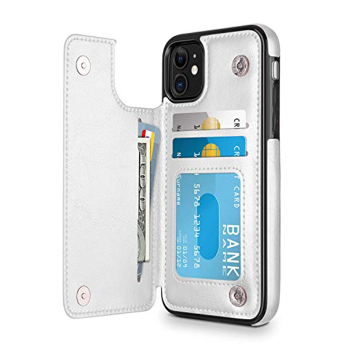 Suhctup Compatibile con Custodia iPhone 6 Plus pelleCover iPhone