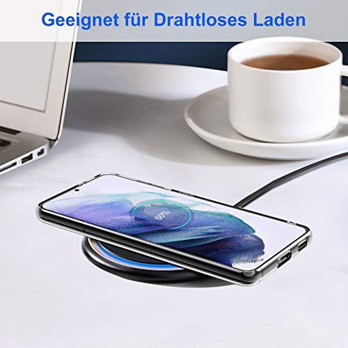 Eiselen klar Hülle Kompatibel mit Samsung Galaxy S21 5G, Weich Dünn Transparent Anti-Gelb Handyhülle, TPU Case Schutzhülle Kompatibel mit Samsung Galaxy S21 5G