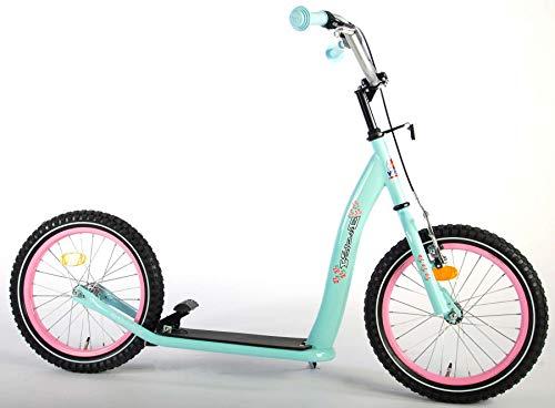 Kinder Scooter Volare Big 16 Zoll Mint Pink Tretroller Cityroller