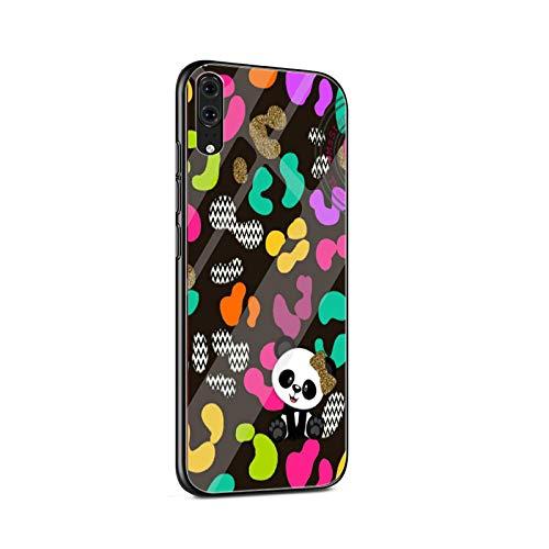 Love Little Panda - Funda de cristal para Huawei Honor Y6 Prime Y9 Mate 20 Lite Pro Case Para Honor 7A Pro 8X 9 10 Lite Cover-G8-for Honor 10