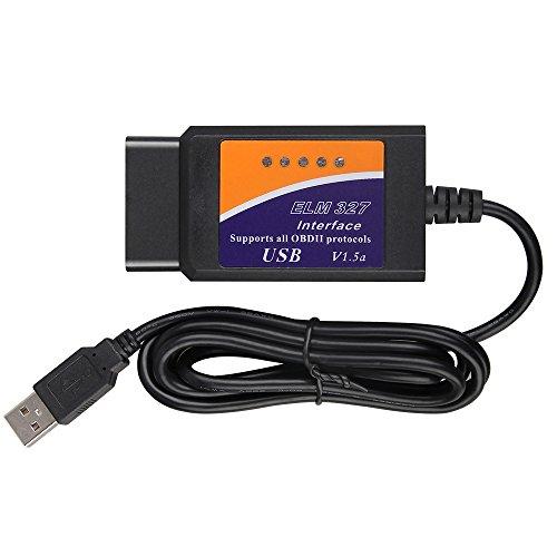 Elm 327USB-Schnittstelle OBD/OBDII Scanner V1.5Version Vgate ELM327USB OBD2Auto Diagnostic Interface Scan Werkzeug