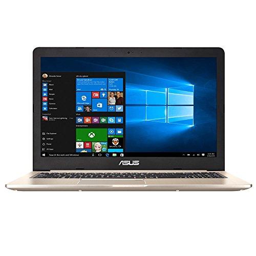 "ASUS VivoBook Pro N580VD-FI038T 2.8GHz i7-7700HQ 15.6"" 3840 x 2160Pixel Oro, Metallico Computer portatile"