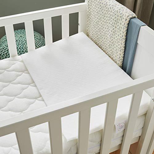 P'tit Lit – Piano inclinato per neonato, 60 x 35 cm, per letto 60 x 120 cm, limita i riflussi – Anti acari – Inclinazione 15° – Sfoderabile – Fabbricazione francese