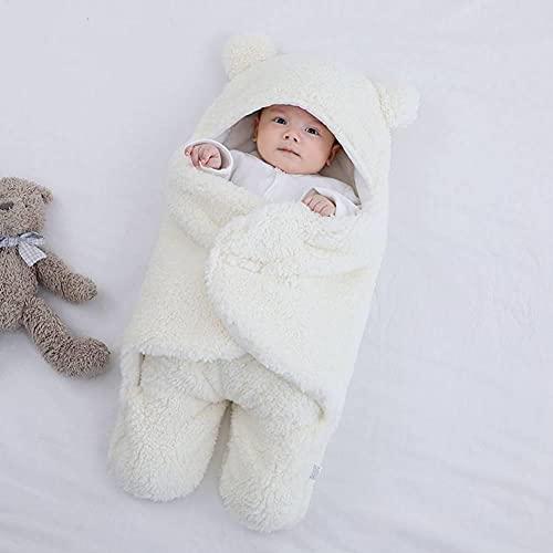 PUYEI Manta envolvente para cochecito de bebé, para invierno, universal para capazo de bebé, para cochecito, cochecito o cuna