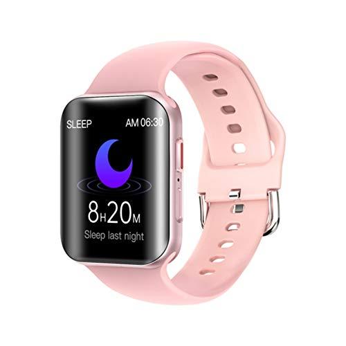 T68 Smart Guarda L'orologio da Uomo E Sport Impermeabile Dell'orologio Impermeabile della Frequenza Cardiaca con La Torcia Elettrica Smartwatch per Android iOS,A