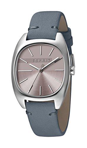 Esprit Damen Analog Quarz Uhr mit Leder Armband ES1L038L0045
