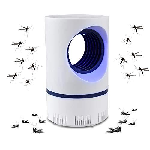 LLLLDDLLLDM Asesino Mosquitos Electrico Killer Lámpara Trampa LED para Insectos con luz Ultravioleta UV para expulsar Mosquitos para Uso en Interiores y Exteriores