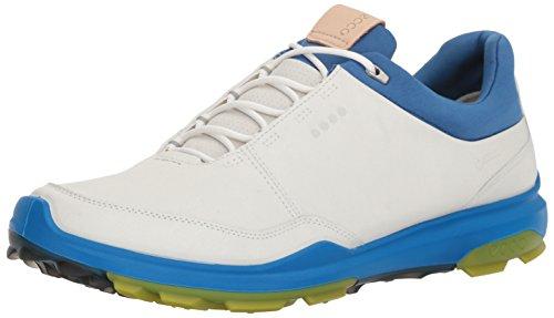 ECCO Mens Biom Hybrid 3 GTX, Scarpe da Golf Uomo, Bianco (White/Kiwi 50864), 40 EU