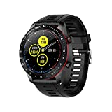 <span class='highlight'><span class='highlight'>BYTTRON</span></span> Bluetooth Smartwatch, Full Round Touchscreen IP68 Waterproof Sports Watches with Heart Rate Sleep Activity Trackers Step Counter Stopwatch SMS Call Notification for iOS Android