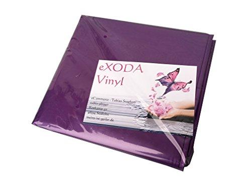 eXODA Inkontinenzlaken Unterlaken Matratzenauflage lila 200x230 cm Inkontinenzauflage Inkontinenz-Bettlaken auch für Kinder