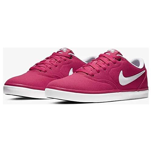 Nike Zapatillas SB Check Solar Canvas - Pink/White 921463 (41 EU)