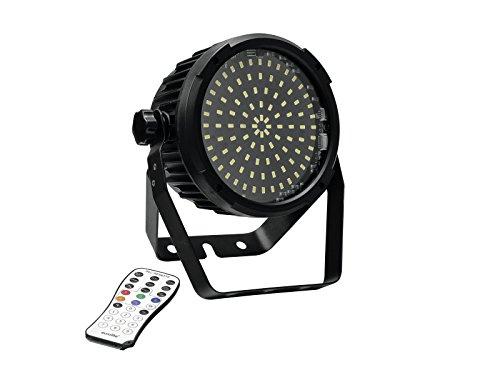 Eurolite LED SLS-98 Strobe SMD   High-Power-Stroboskop   Discoblitzer mit hochleistungs LED´s   DMX oder Standalone   Lüftergekühlt   Mit Fernbedienung