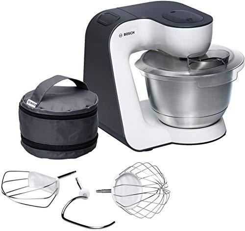 Bosch MUM54A00 900W - Robot de cocina, 3,9 L, 900 W, Negro/P