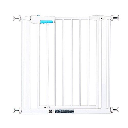 barrière de sécurité Portes de sécurité d'intérieur montées par pression de porte étroite de bébé pour l'escalier de couloir de portes d'escalier blanc facile ouvert 57-73cm de large ( taille : 65-73cm )