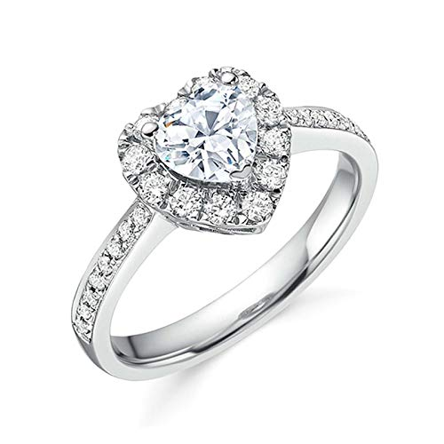 Mllkcao Ringe Frauen Vintage Damen Rosegold Silber Gold Ringe Set Muttertag Silberring Brautzirkon Diamant Elegante Ehering Ring Antragsring Entouragering Ringe, Damen Schmuck Geschenk für Frauen