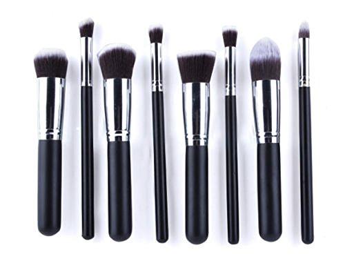 Ardisle 8 Pcs Pinceaux Maquillage Cosmétique Visage Poudre Blush de fondation Kabuki Contour Set