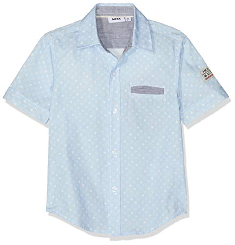 Mexx Jungen Hemd, Blau (Stillwater/White 318165), (Herstellergröße: 110)