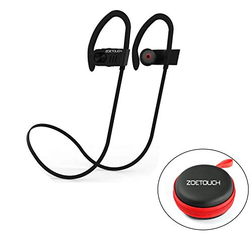 Auriculares Bluetooth, ZOETOUCH Auriculares Inalámbricos Bluetooth Deportivos In-Ear...