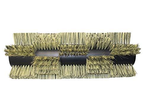 partmax® Bürstenwalze für Tennant 8210 (Arbeitsbreite 1200 mm), Poly 0,4 mm und 0,8 mm, 5 x 4 Reihen, Walze, Walzenbürste, Kehrwalze