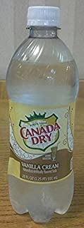 Canada Dry Vanilla Cream Soda 20 Oz (24 Pack)