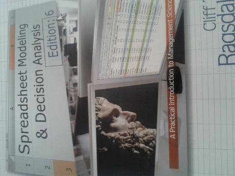 Spreadsheet Modeling & Decision Analysis 6ed