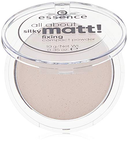 ESSENCE ALL ABOUT SILKY MATT POLVOS COMPACTOS 10 TRANSLUCENT ROSE