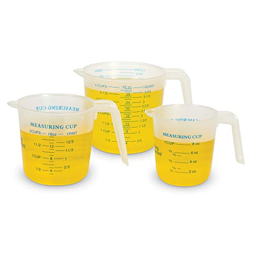 Learning Resources Liquid Measures, Set of 3, Multi-Color