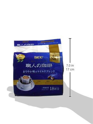 UCC職人の珈琲ドリップコーヒーまろやか味のマイルドブレンド18P×2個