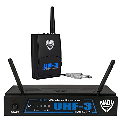 Nady UHF-3 Wireless Instrument/Guitar System w/True Diversity