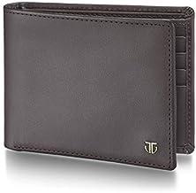 Titan Brown Travel Accessory- Bi-Fold Wallet