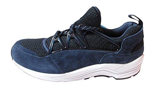 Nike Air Huarache light PRM scarpe da ginnastica uomo 708831 scarpe da ginnastica, Multicolore (Midnight Navy Bianco Nero 441), 44 EU