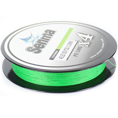SENMA Super Braided Fishing Line 8lb-80lb High Performance PE Fishing...