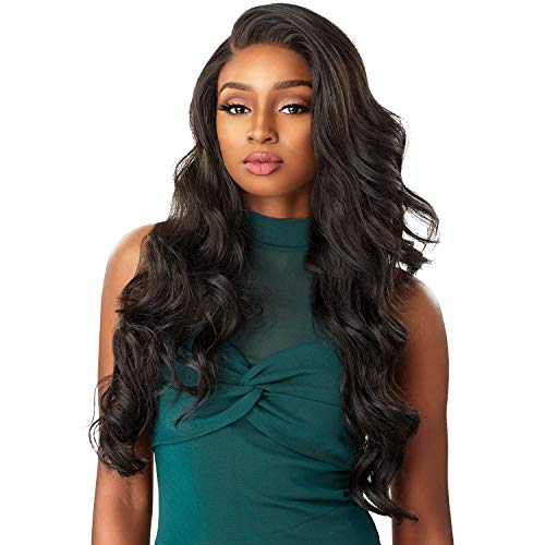 Sensationnel Synthetic Hair Lace Front Wig Cloud 9 What Lace Swiss Lace 13X6 Celeste (1B)