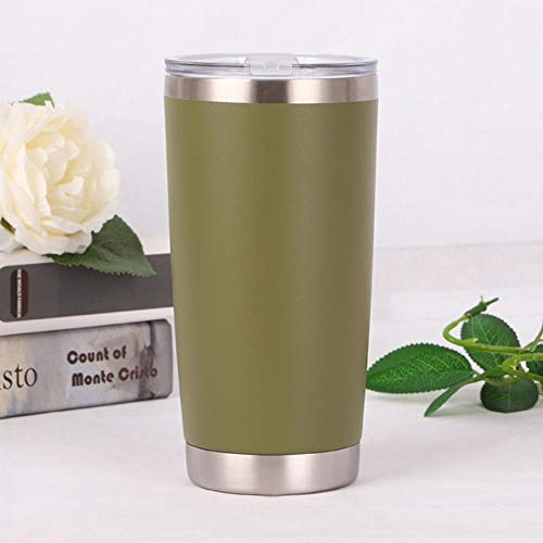 LinZX Stainless Tumbler Vacuum Thermos Isolierung Reise-Kaffeetasse-Schale Kaffeekanne,B