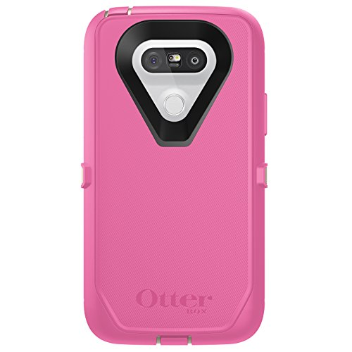 OtterBox DEFENDER SERIES Case for LG G5 - Retail Packaging - BERRIES N CREAM (SAND/HIBISCUS PINK)