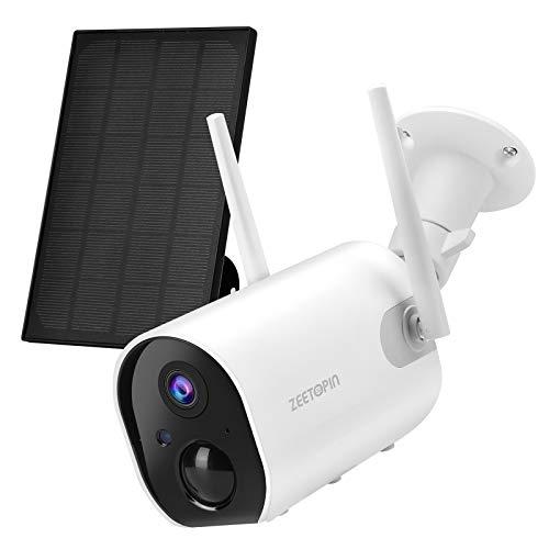 Überwachungskamera (mit Akku & Solarpanel)