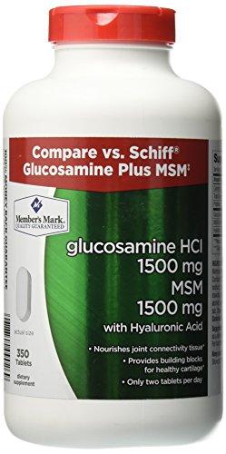 Member's Mark Glucosamine HCI + MSM Dietary Supplement (350 ct.)