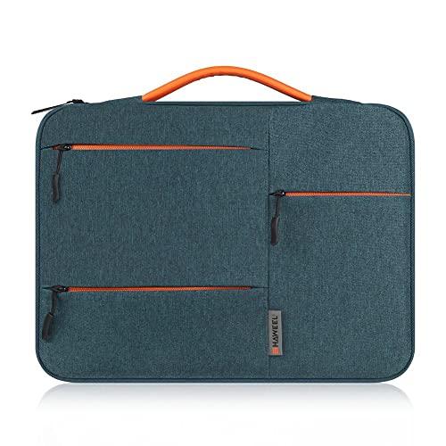 KINDD Funda para ordenador portátil MacBook Pro/MacBook Laptop Bag para 13' Surface Lenovo Dell HP ASUS Acer Chromebook Negro